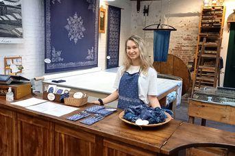 Blaudruckerei im Kattrepel