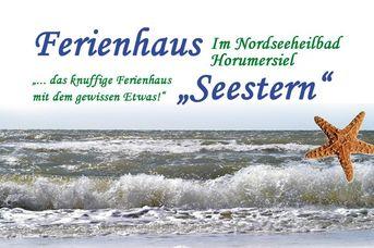 """Ferienhaus """"Seestern""""*****"""