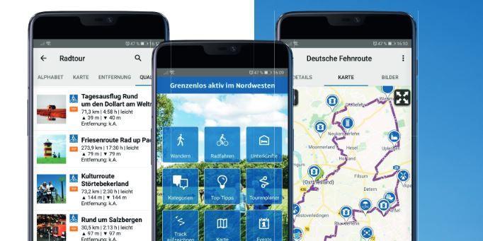 Grenzenlos aktiv App