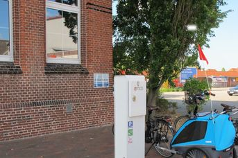 E-Bike Ladestation am Rathausmarkt