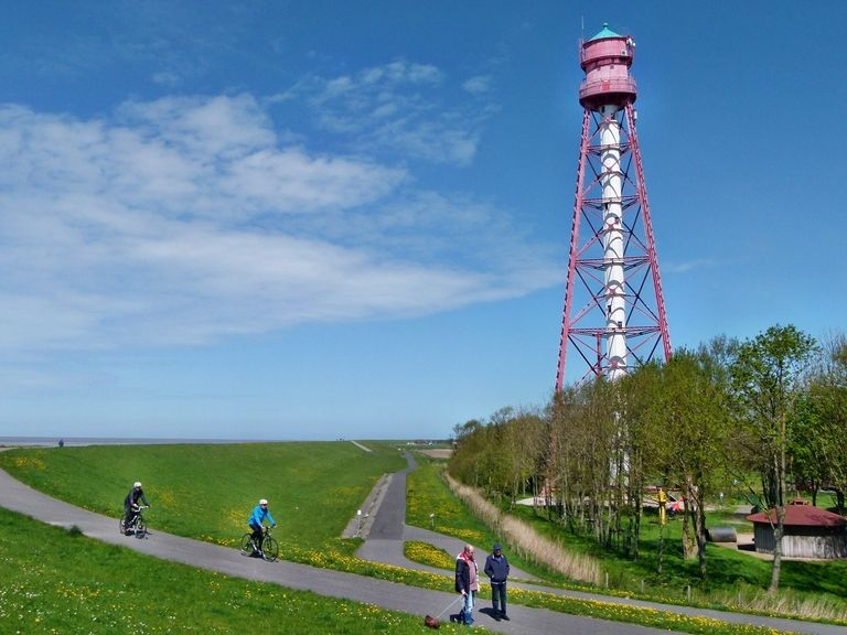 Sehenswertes entlang der Friesenroute Rad up Pad