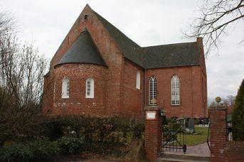 Ev.- luth. St. Barbara-Kirche Strackholt