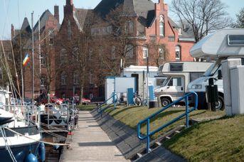 E-Bike Ladestation am Wohnmobilstellplatz