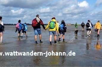 Wattwandern mit Johann - zur Insel Baltrum