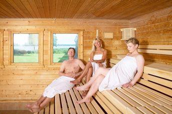 GESCHLOSSEN - Sauna am Meer