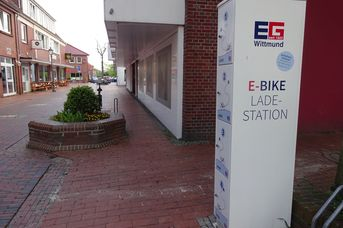 E-Bike Ladestation BohnenBar Wittmund