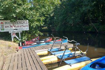 Boots- und Kanuverleih am Wasserturm